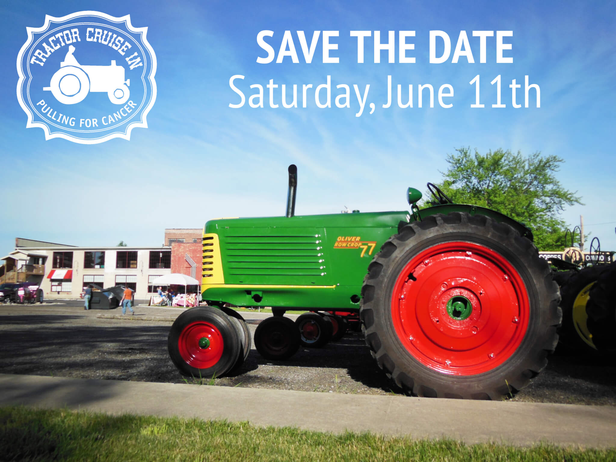 Tractor Cruise In Save the Date