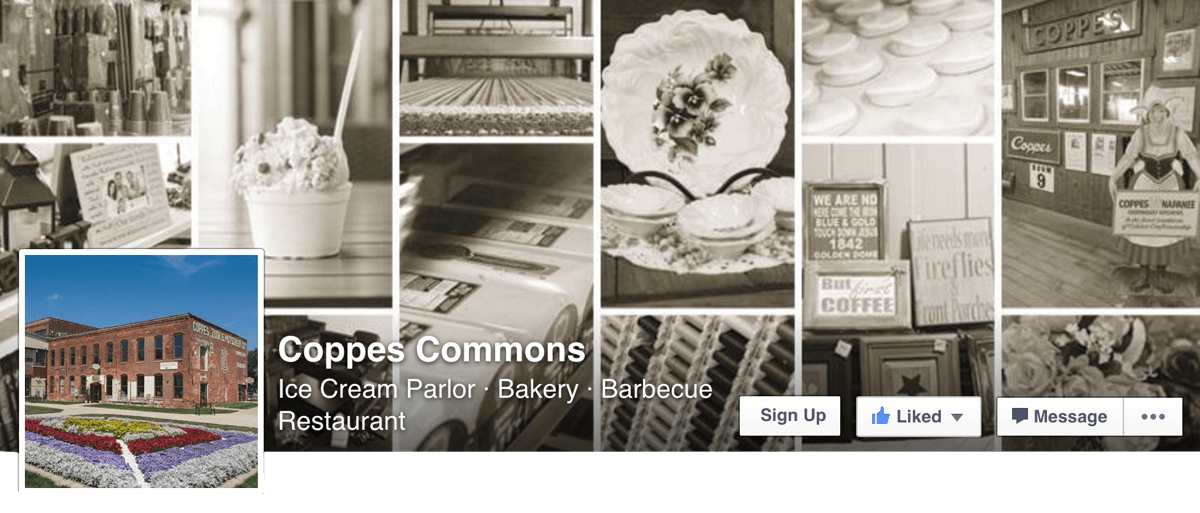 Check Out Coppes Commons on Facebook