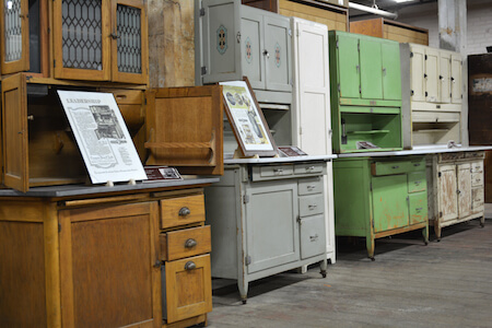 Coppes Kitchens And Hoosier Cabinets