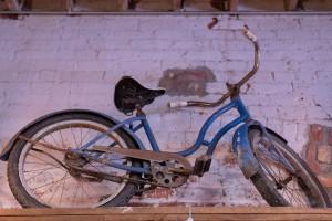 Dutch Lady Antiques Blue Bicycle