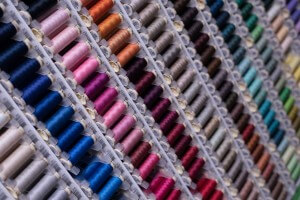 Market Street Fabric Co Colored Thread