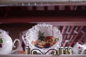 Teapot and More Fruit Bowl