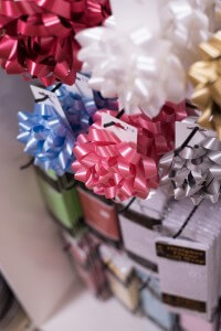 Teapot and More Gift Wrap and Bows