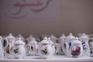 Teapot and More Salt and Pepper Shakers
