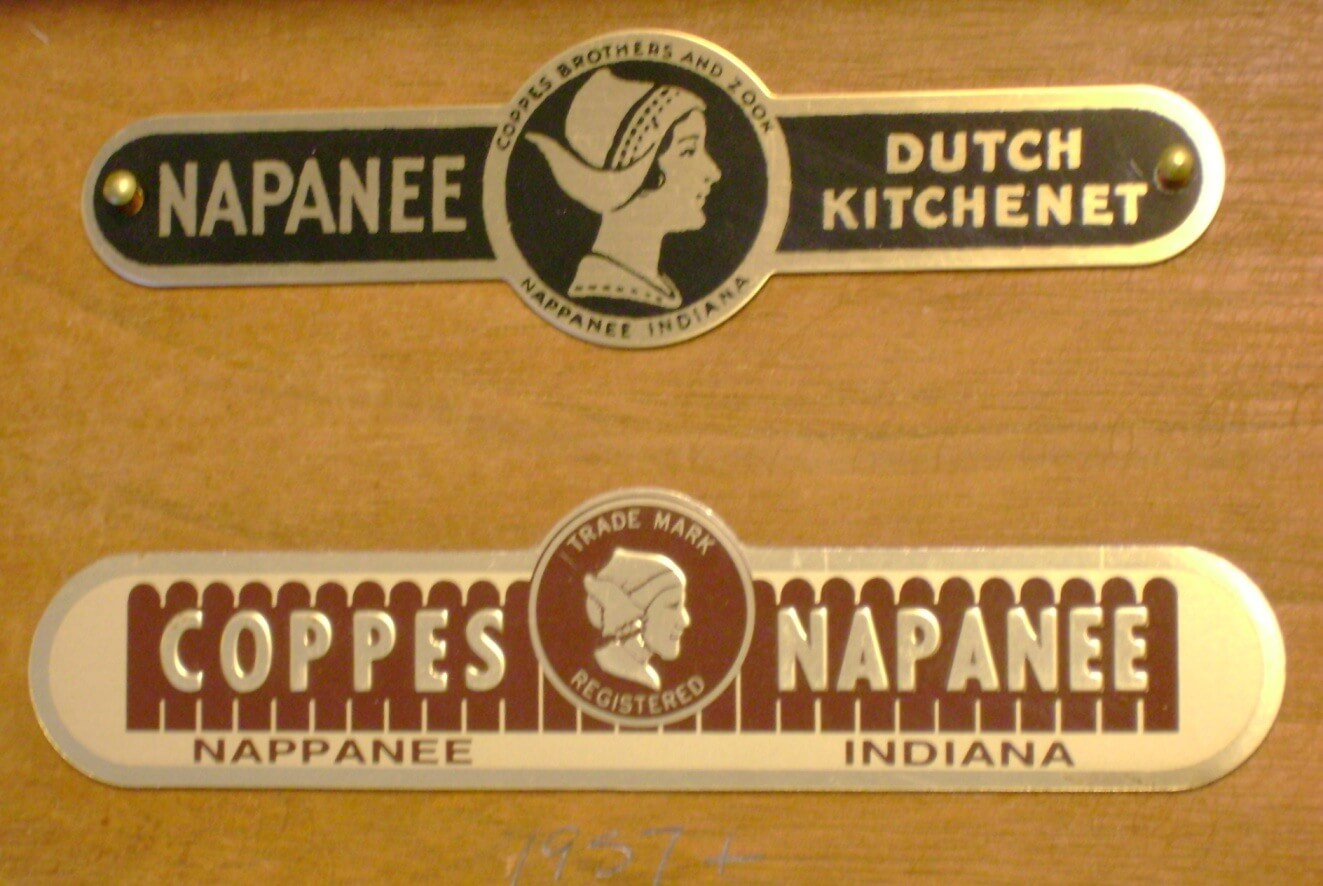 Cabinet Label Reproduction