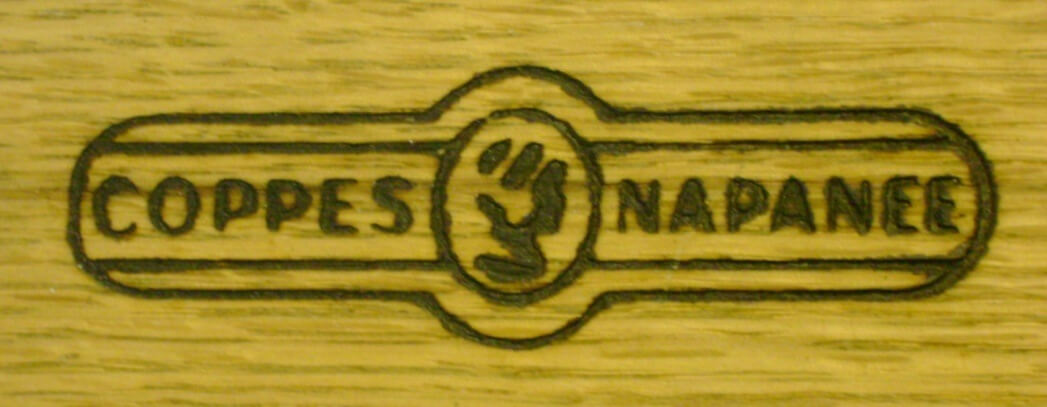 Cabinet Label Wood Burned
