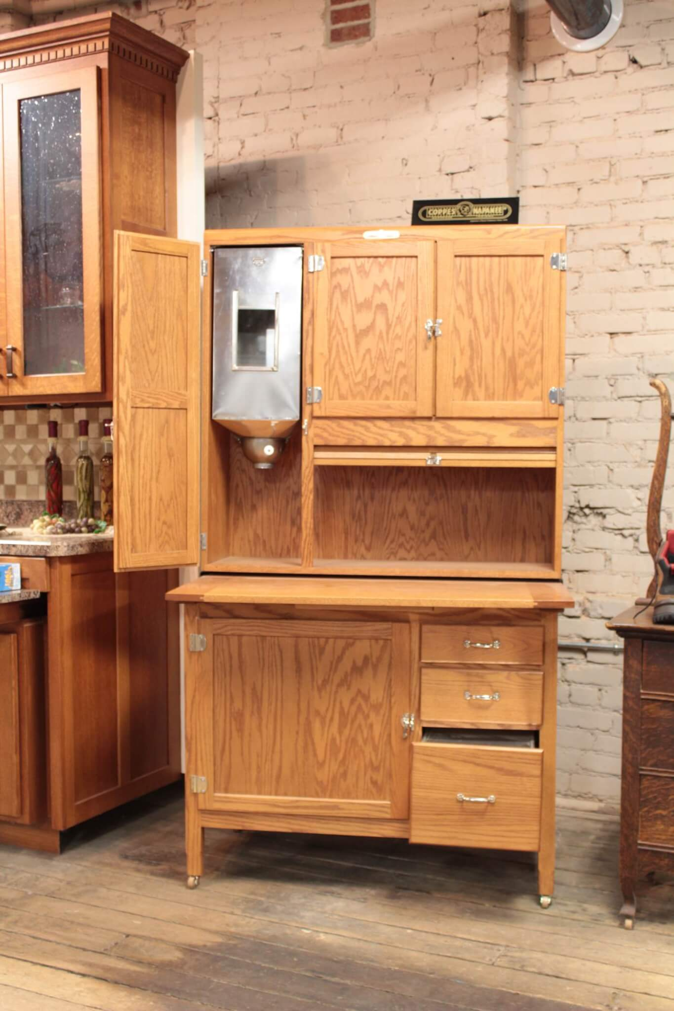 Custom Built Cabinets And Hoosier Cabinet Restoration In Nappanee In