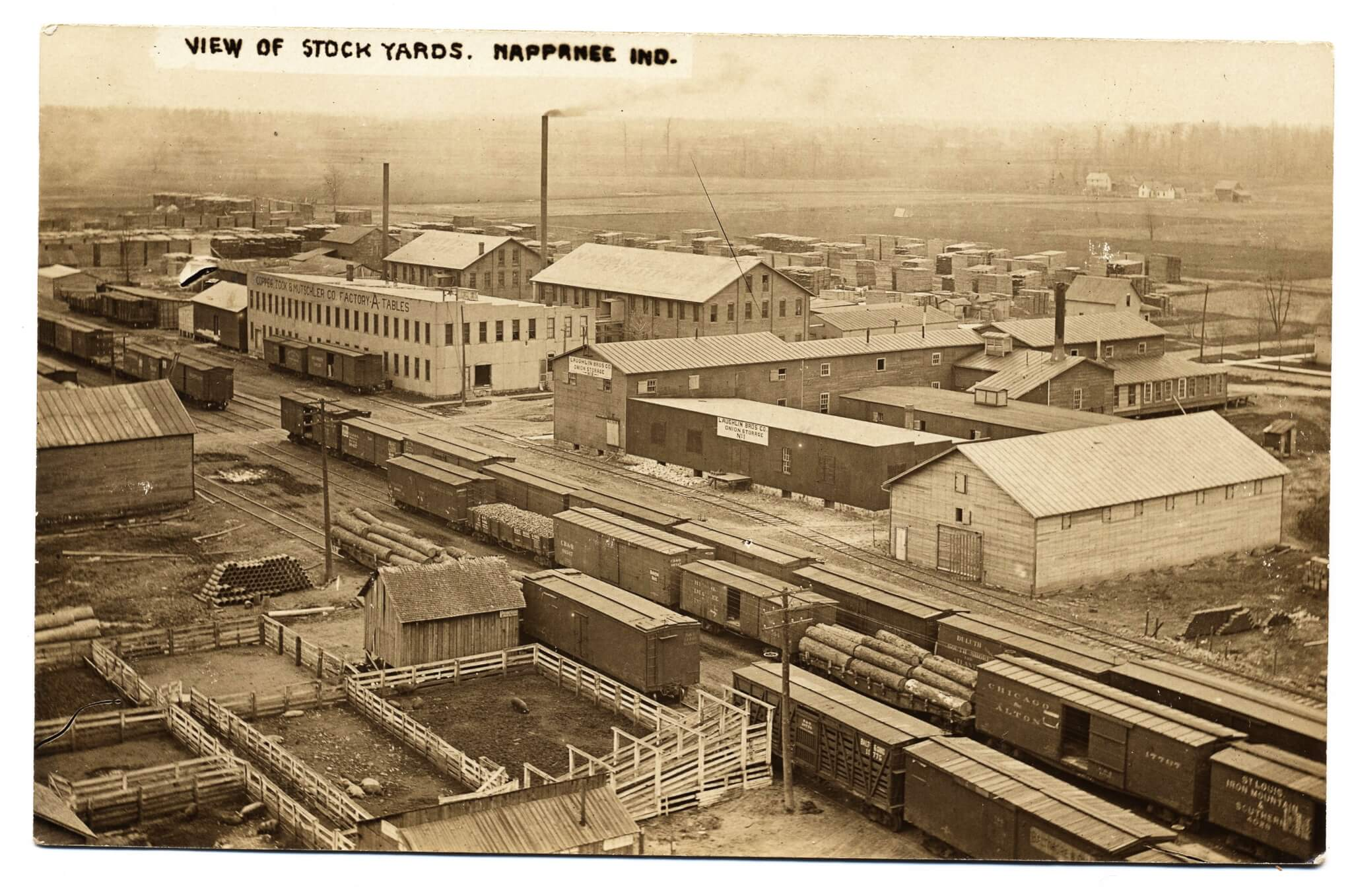 rail yards