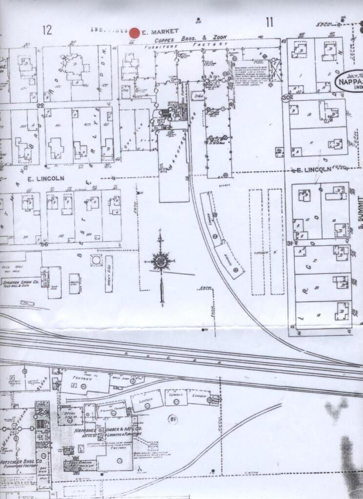 Sanborn Map 1931