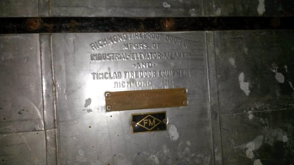 fire door tag FM