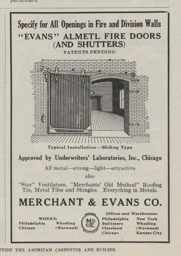 fire door ad