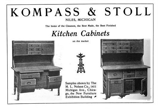 Here Are Three Advertisements For Kitchen Cabinet Manufacturing Companies That I Recently Found Used These Because They All