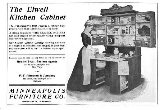 Elwell Hoosier Cabinet