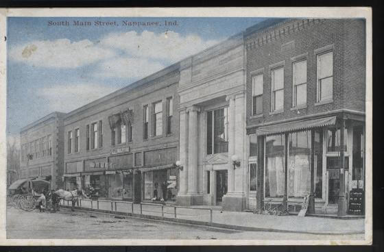 south main postcard